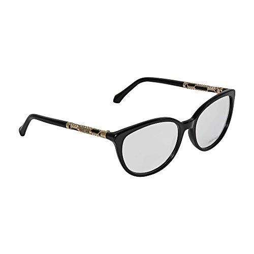 Roberto Cavalli Glasses - Roberto Cavalli - SEGIN RC 0963, Cat Eye, acetate, women, MATTE BLACK(002), 54/16/140