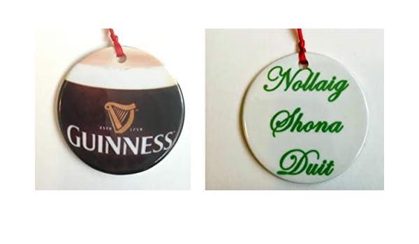 Amazon.com: customcoastersbyhazel.com Guinness, Christmas Ornament, Irish,  Ireland, Irish Ornament: Home & Kitchen - Amazon.com: Customcoastersbyhazel.com Guinness, Christmas Ornament