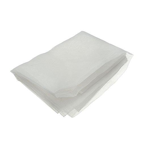 Raza DIY 100x127cm 80M Silk Screen Printing Mesh Fabric White Elastic Mesh Cloth For Household Handwork Craft Materials Supplies