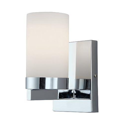 Bathroom sconces chrome amazon canarm ivl429a01ch milo 1 light bath vanity aloadofball Choice Image