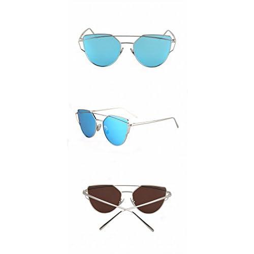 f08990a24c Puntales de la Personalidad Gafas de Sol Polarizadas Gafas de Sol Populares  Femeninas C8 Plata Marco