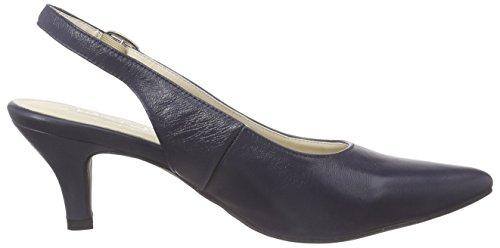 Andrea Conti 1009375 - Zapatos de Talón Abierto Mujer Azul - Blau (dunkelblau 017)