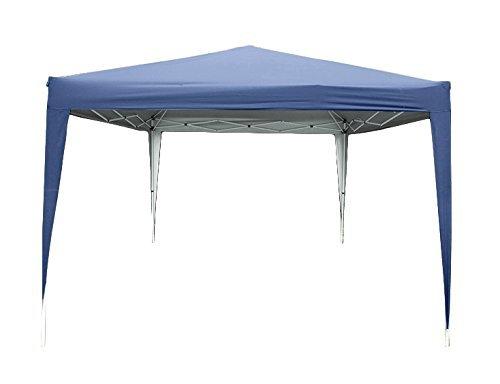 Quictent 8x8 Feet Pop Up Canopy Instant Party tent Carport Beach Tent Heavy duty Height Adjustable Waterproof-3 Colors (Navy Blue)