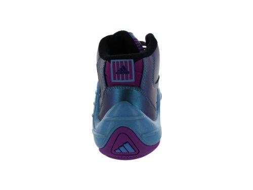 Adidas Real Deal Basketbalschoenen Black1 / Vivpink / Joyblu