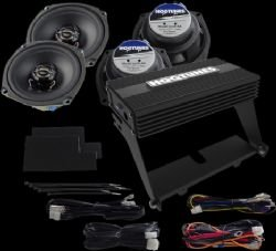 Hogtunes Big Ultra Amplifier And Speaker Kit For Harley Davidson Ultra Classics 1998-2011 by Hogtunes