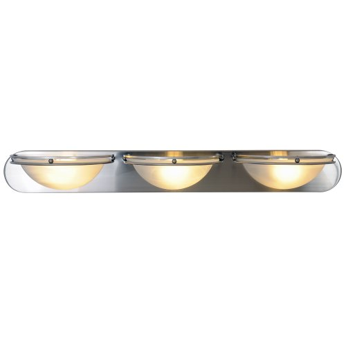 (Monument 617608  Contemporary Vanity Fixture, Brushed Nickel, 36 In.)