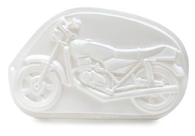 MOTORCYCLE CAKE PAN PLASTIC PANTASTIC HARLEY PARTY (Harley Davidson Cake Pan compare prices)