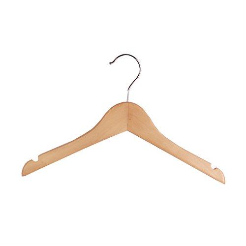Wood Childrens Shirt Coat Hangers