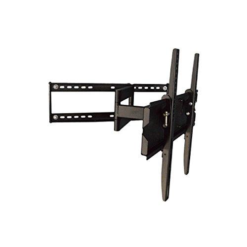 エースオブパーツ テレビ壁掛け金具 32-55インチ対応 シングルアームタイプ ブラック PLB-146MB 【中型テレビ壁掛け】 B00PKYE28W ブラック ブラック
