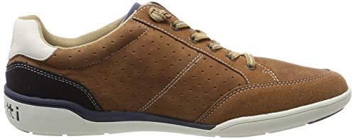 321465095400 Zapatillas cognac Marrón 6300 Hombre Bugatti Para d0qpO6dw