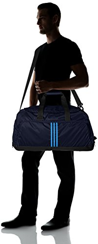 adidas Teambag 3-Stripes Performance, Collegiate Navy/Solar Blue2 S14, 20 x 40 x 20 cm, 20.7 Liter, S24738