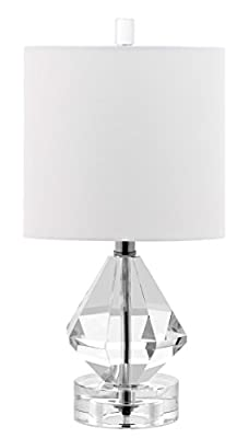"Decorator's Lighting 15508 Diamond Accent Lamp, 15"" H, Crystal"