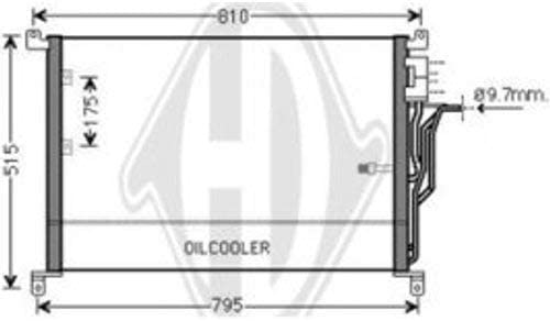Klimaanlage Diederichs Climate DCC1035 Diederichs Kondensator