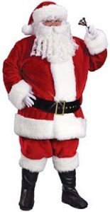 [Professional Father Christmas Suit ~ 58 ~ 60 chest ~ XXL Santa ~ SALE by Palmers] (Xxl Santa Suits For Sale)