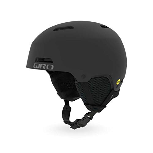 Giro Crue MIPS Kids Snow Helmet Matte Black MD 55.5-59cm