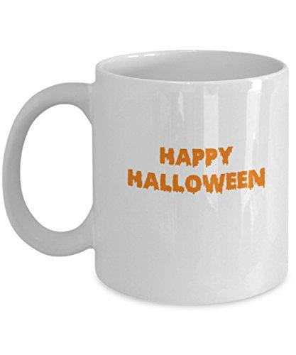 Happy Halloween Coffee Cup 11 OZ, Mug Funny ()