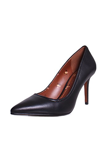 Coach New York Waverly Leren 85 Mm Hakken Pumps In Zwart