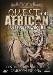 Quest for African Big Game Volume 3 ~ Hunting DVD New ()