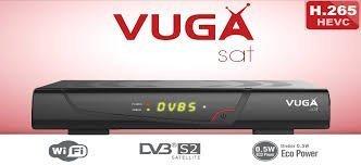 Vuga SAT H265 - Receptor satélite digital, color negro: Amazon.es: Electrónica