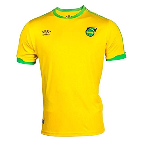 Umbro 2018-2019 Jamaica Home Football Soccer T-Shirt Jersey - Soccer T-shirt Umbro