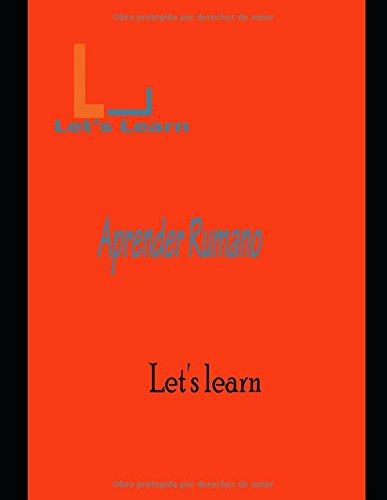 Let's Learn - Aprender Rumano  [Learn, Let's] (Tapa Blanda)