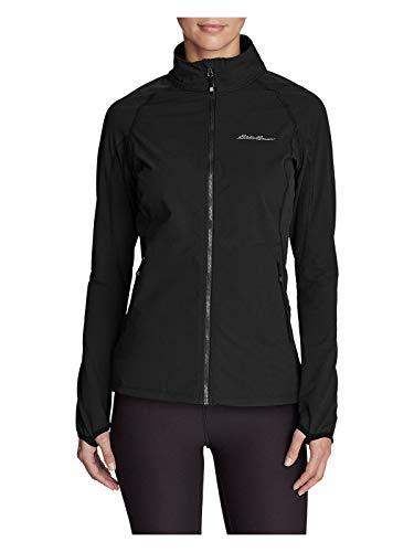 Eddie Bauer Women's Sandstone 2.0 Soft Shell Jacket, Black Petite S