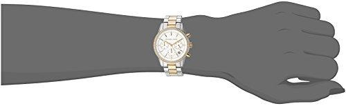 Michael Kors Watches Ritz Two-Tone Chronograph Watch by Michael Kors