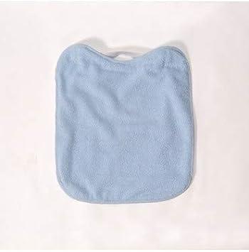 10XDIEZ Babero Rizo plastico con Goma Azul: Amazon.es: Hogar