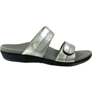 Orthaheel Vionic With Orthaheel Technology Womens Shore Orthatic Slide Pewter Size 9