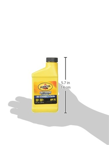Pennzoil Quaker State 4053 2 Cycle Small Engine Oil, 8 oz by Pennzoil (Image #1)