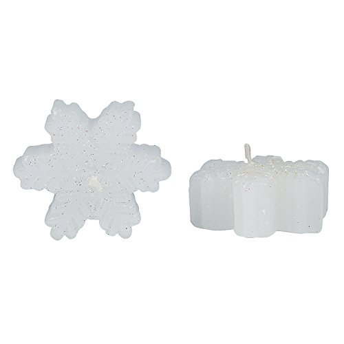 Snowflake Floating Candles - Snowflake Candles Floating