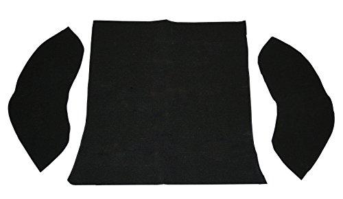 (EMPI 3914 58-64 VW Bug, Baja Sedan Rear Well Carpet Kit, 3-Piece,)