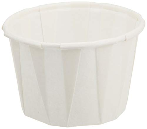 Genpak 250 Piece F100 Capacity Pleated Paper Portion Cup, 1