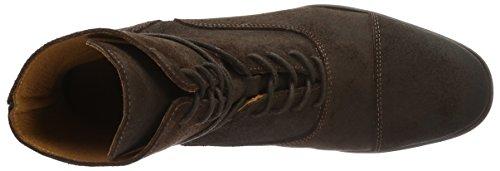 neoneo Bradleye - Botas de Piel para hombre, color marrón
