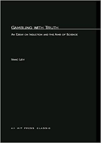 com gambling truth an essay on induction and the  com gambling truth an essay on induction and the aims of science mit press 9780262620260 isaac levi books