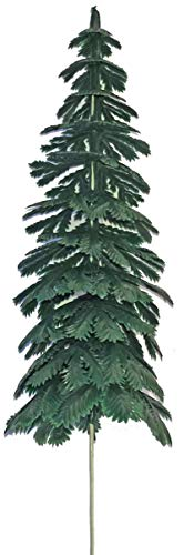 Extra Large Evergreen Fir Trees for Cake Decorating - 6 pcs