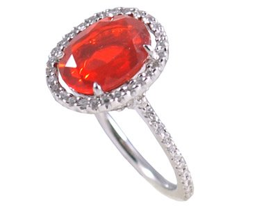Amazon mexican fire opal ring jewelry mexican fire opal ring aloadofball Choice Image