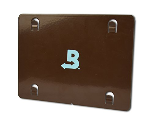 (Boveda Metal Mounting Plate for Humidors, attaches (1) 320-gram Boveda with Magnetic kit (Included); Made of Powdered Coated Steel, Built in tabs Slide into The Squares on The Back of Boveda 320 Gram)