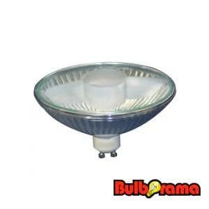 75 watts ar111 gu10 base par36 halogen flood light bulb with glass cover 120. Black Bedroom Furniture Sets. Home Design Ideas