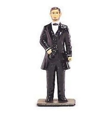 (American Civil War Metal Miniatures Hand Painted Union President Abraham Lincoln 1/32 Scale by Americana )