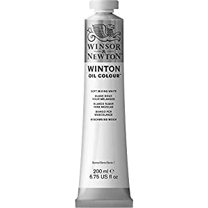 Winsor & Newton Winton Oil Colour Paint, 200ml tube, Burnt Sienna (1437074)
