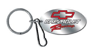 Chevy Racing Enamel Key Chain