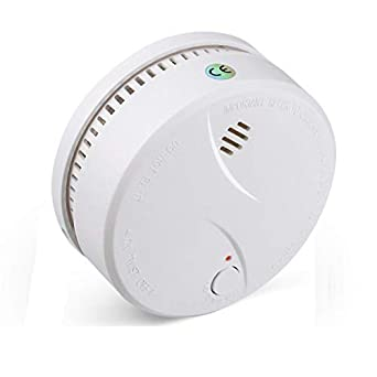 Alarma de incendio inalámbrica para batería reemplazable de red doméstica Qoosea alarma de incendio doméstica de cocina Detección de humo Alarm-625PHS