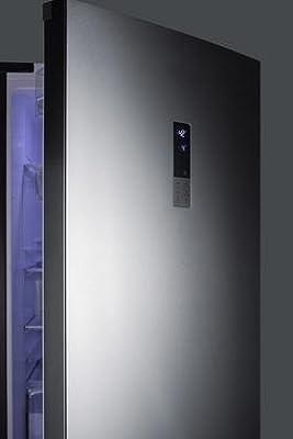 Summit FFBF191SS Refrigerator, Stainless Steel
