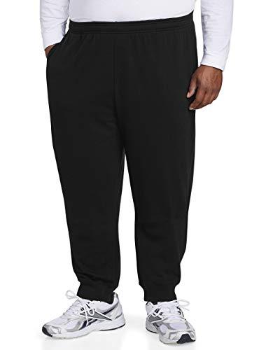 Amazon Essentials Men's Big and Tall Closed Bottom Fleece Pa