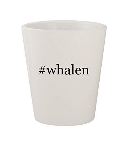 Price comparison product image #whalen - Ceramic White Hashtag 1.5oz Shot Glass