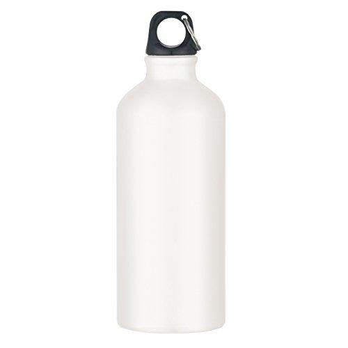 "Logotastic 5701-WE5 Tundra Aluminum Bike Bottle (36 Pack), 19""/16.5 oz/20 oz, White from Logotastic"