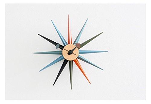 ESOPOOM Sun Burst Wall Clock ()