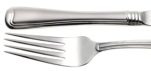 Gorham Monet Frosted 45-Piece Stainless Flatware Set With Free ()