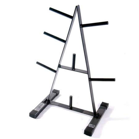 CAP Barbell* 500 lbs Weight Capacity 1-Inch Standard Plate Rack in Black – DiZiSports Store